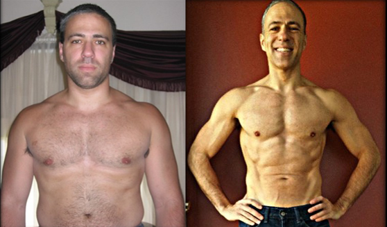 George before and after 90 days