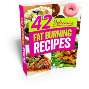 42 Delicious Fat Burning Recipes Cover