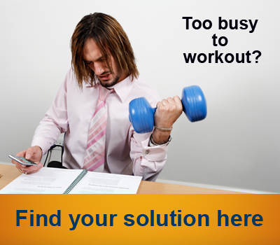 Too busy to workout man