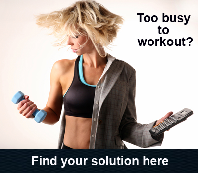 Too busy to workout woman